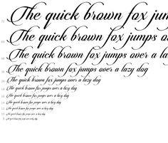 Candlescript Pro Regular - desktop font - Fonts.com