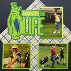Golf page from Everyday Life, Album 2