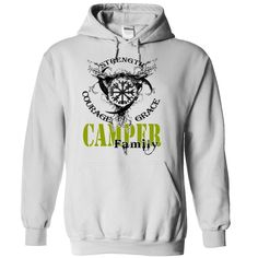 CAMPER Family - Strength Courage Grace, Order Here ==> https://www.sunfrog.com/Names/CAMPER-Family--Strength-Courage-Grace-klvxucuhtz-White-49780086-Hoodie.html?9410 #birthdaygifts #xmasgifts #christmasgifts