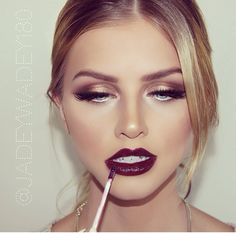 {kissable complexions} Vampy lips glam