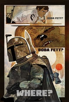 Boba Fett?  Created by Jim Mehsling