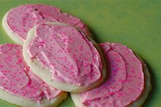 Thee BEST Sugar Cookies Ever! Try them, you won't be disappointed!! :)