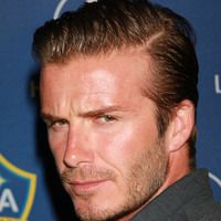 David Beckham hairstyles from ghd