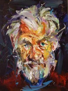Paul Wright | Rebel - #painting #oil #oilpaintin #art
