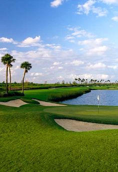 Florida Golf Course Homes, Palm Beach County - Jupiter Country Club