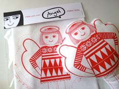 Make Your Own Angel by Jane Foster on Etsy