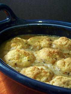crockpot chicken and biscuits - must try this one!