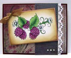 Heartfelt Creations   Purple Ornamental Raspberries