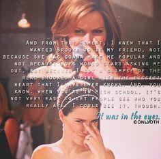 """Its all in the eyes"" / Haley James Scott / Brooke Davis / Wedding / Bride / Beautiful / Sophia Bush / Love Her / / One Tree Hill / OTH Forever"