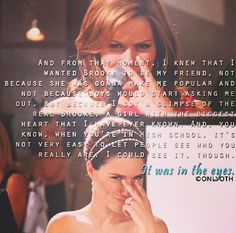 """Its all in the eyes"" / Haley James Scott / Brooke Davis / Wedding / Bride / Beautiful / Sophia Bush / Love Her / / One Tree Hill / OTH Forever"