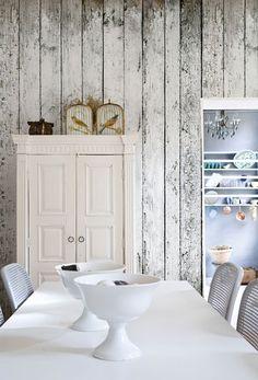 design interior with wood wallpaper 2 Wood wallpaper