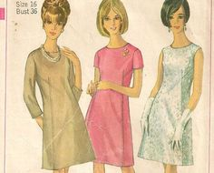samantha stevens clothing | 1960's Samantha Stevens Bewitched Dressy Casual Dress Sewing Pattern ...
