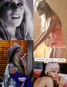 Sienna Miller Alfie Makeup