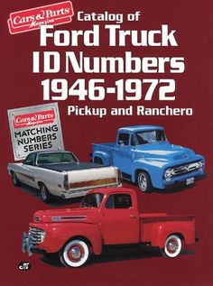 Catalog of Ford Truck Id Numbers 1946 1972 (Cars « Library User Group