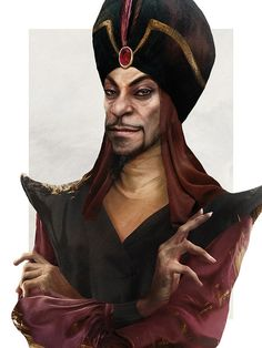 Jafar - Here's What Tons of Disney Characters Would Look Like in Real Life - Photos