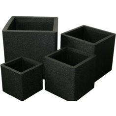 Iqbana 32 cm fyrkantig svart