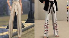 Chateau Tied Pants [#ts4_adult_bottom]