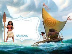 Convite Mini Kit Moana
