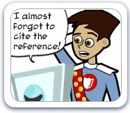 """I almost forgot to cite the reference!"""