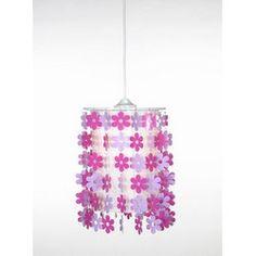 Flower riippuvalaisin E27 pinkki/violetti