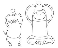adventure time coloring pages | Printable Adventure Time - Finn 3 Coloring Page