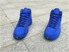 b51eb800c87 Authentic Air Jordan XII Premium Deep Royal Blue