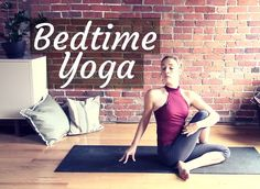 Bedtime Yoga For A Good Night's Rest - Gentle Hatha Evening Yoga