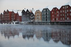 Trondheim by Kirsti I., via Flickr