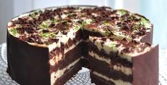 Choco lime cake This recipe is my pride! Lime Cake Recipe, Food Network Recipes, Cooking Recipes, Hungarian Cake, Russian Recipes, Avocado Recipes, Food Cakes, Seafood Recipes, Chocolate Cake