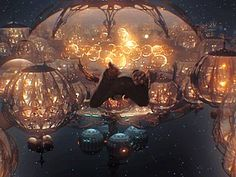 Naboo Underwater City: Star Wars: Episode I:The Phantom Menace