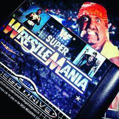 On instagram by bobgetsbored #segamegadrive #microhobbit (o) http://ift.tt/1J9HEXl Super Wrestlemania - Sega Mega Drive/Genesis  Please take your time to enjoy creepy Hulk Hogan.  #cartartfriday #sega #segagenesis #genesis #megadrive  #wwf #wwe #wrestlemania #retro #retrogaming #retrogaminglife #retrogamer #videogames #classic #retrocollective #rceurope #16bit #gamecollector #retrogames #hulkhogan