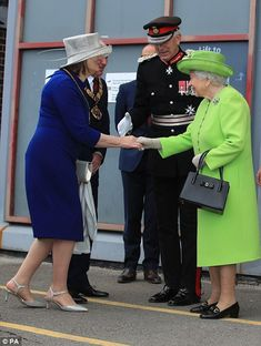 361 best greeting our queen images on pinterest in 2018 royalty meghan and the queen giggle their way through first joint engagement m4hsunfo