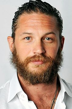 """I grew it myself, yeah, my own design.""   - Tom Hardy (x)"