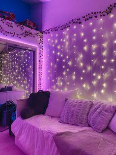 Neon Bedroom, Room Design Bedroom, Room Ideas Bedroom, Bedroom Decor, Bedroom Inspo, Ideas Decorar Habitacion, Pinterest Room Decor, Chill Room, Retro Room