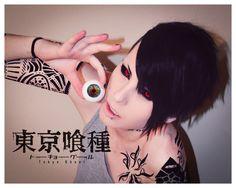 Tokyo Ghoul   Uta : @H I B I K I 響   Photo n' tattoo : Xandra.SFX