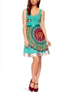 Dress Desigual Galactic Couleurs Vert Turquoise Xs A Xl Xl Desigual,http://www.amazon.com/dp/B00A7N187Y/ref=cm_sw_r_pi_dp_y15orb1GWB7RCBPA