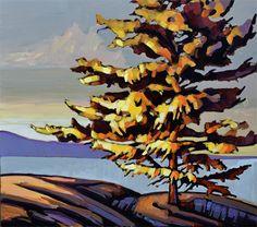 Canada Landscape By : Jerzy Werbel Size 36 x 40 www.werbeland.ca