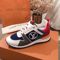 Louis Vuitton lv woman run away sneakers trainers Louis Vuitton Shoes, Running Women, Trainers, Woman, Sneakers, Fashion, Tennis, Tennis, Moda