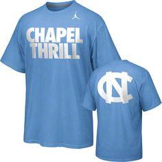 North Carolina Tar Heels Nike Chapel Thrill T-Shirt #tarheels #unc #northcarolina