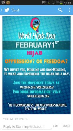 World Hijab Day:) << Check it out #hijabstyle