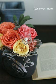 退職される方へのフラワーギフト http://ameblo.jp/flower-note/entry-10947317083.html
