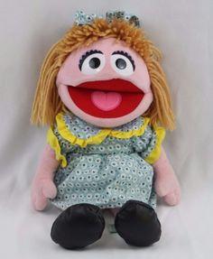 """Sesame Street Prairie Dawn Plush Doll Sesame Place 2011 16"""" #SesameWorkshop"""