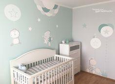 Kids Room Wallpaper, Baby Room Decor, Toddler Bed, Nursery, Bedroom, Children, House, Furniture, Rooms