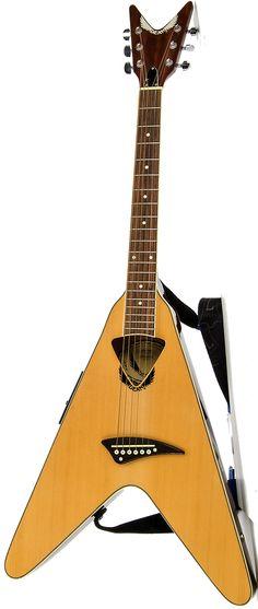 Dean acoustic Vee Guitar --- https://www.pinterest.com/lardyfatboy/