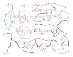 Google Image Result for http://fc02.deviantart.net/fs13/f/2007/112/d/8/Minimalist_Cats_Sheet_1_by_sidneyeileen.jpg