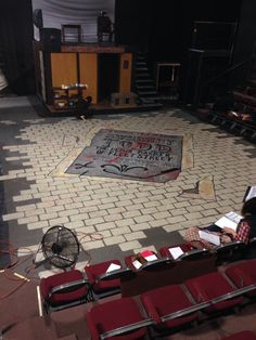 Sweeney Todd floor design by Cody Rutledge