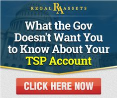 What the government doesn't want you to know about your TSP account. #gold #investing #TSP