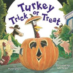Turkey Trick or Treat by Wendi Sivano and Lee Harper
