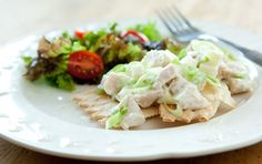 whole foods chicken salad with yogurt and apples
