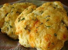 Red lobster style biscuits, use gluten free bisquick